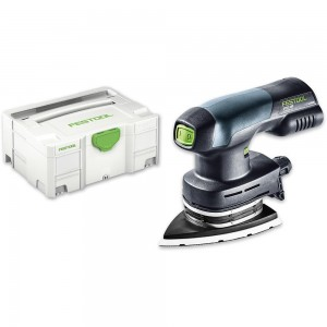 Festool DTSC 400 Li-BASIC Delta Sander 18V & 230V (Body Only)