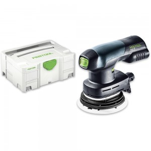 Festool ETSC 125 LI-BASIC Eccentric Sander 18V & 230V (Body Only)