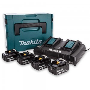 Makita 18V 5.0Ah Battery & Charger Kit 18V