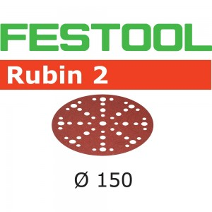 Festool Rubin 2 Sanding Discs 150mm 48 Hole