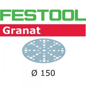 Festool Granat Sanding Discs 150mm 48 Hole