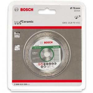 Bosch 76mm Diamond Cutting Disc For GWS 12V-76