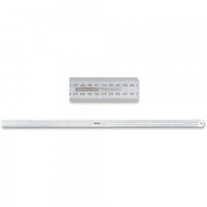 Axminster Precision Stainless Steel Metric Rule - 1,000mm