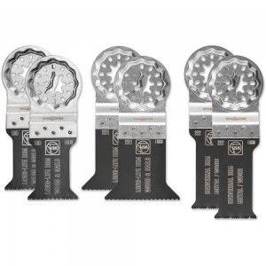FEIN Best Of E-Cut Blades Set Of 6 (Starlock)