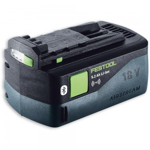 Festool Li-Ion AIRSTREAM Bluetooth Battery 18V (5.2Ah)