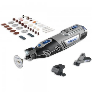 Dremel 8220 2/45 Cordless Multitool plus Accessories 10.8V