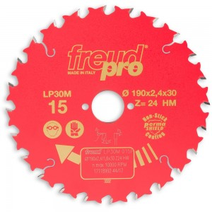 Freud Pro 190mm General Purpose Saw Blade