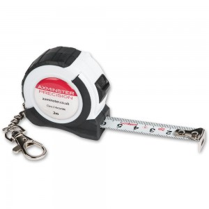 Axminster Precision Keyring Tape - 2m