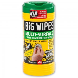 Big Wipes Multi Surface Wipes - 80 Wipe Tub