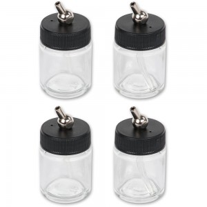 SprayCraft Set Of 4 Jars For SP50K Airbrush