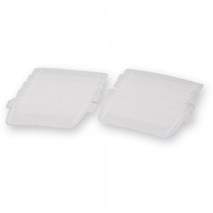 JSP PowerCap Infinity Polycarbonate Visor Covers (Pkt 10)