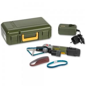 Proxxon Battery-Powered Tube Belt Sander RBS/A