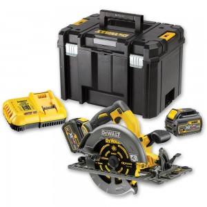 DeWALT DCS576T2 XR FLEXVOLT Circular Saw 2 x 54V Batteries