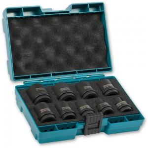 "Makita CR-MO Impact Socket Set 1/2"" Drive D-41517"