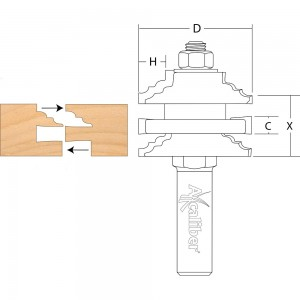 Axcaliber Stile & Rail Cutter (Classic)