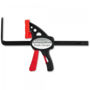 Axminster Trade Clamps Quick Action Guide Rail Clamp