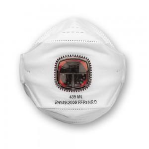JSP SpringFit™ Fold Flat Valved Respirator FFP3 (Pkt 10)