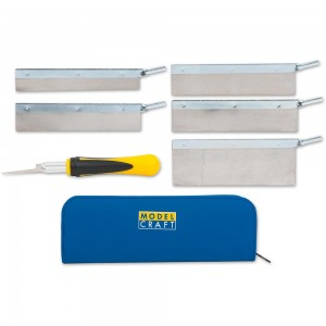 ModelCraft 8 Piece Saw Set