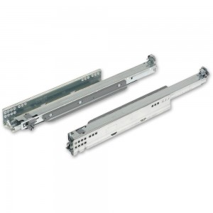 Blum MOVENTO Full Extension 40kg Tip-On Drawer Runners 450mm (Pair)