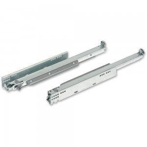 Blum MOVENTO Full Extension 40kg Tip-On Drawer Runners 500mm (Pair)
