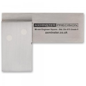 Axminster Precision Engineer's Square - 50mm