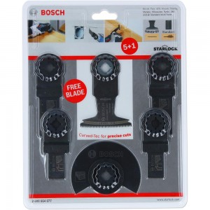 Bosch Wood and Metal Multi-Tool 5+1 Set (Starlock)