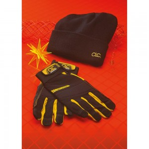 CLC FlexGrip Work Gloves & Beanie Hat