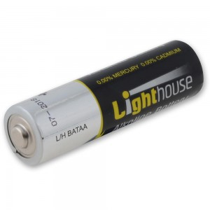 Lighthouse AA Batteries Pack Of 24