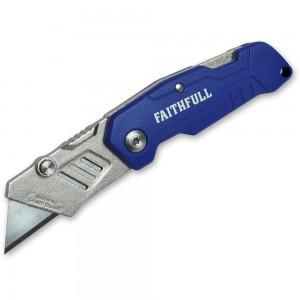 Faithfull Folding Lock Back Knife