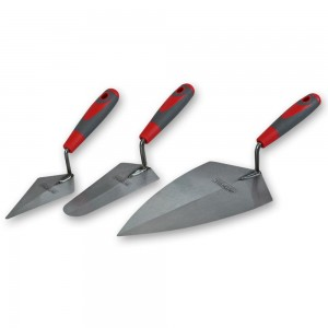 Faithfull 3 Piece Soft Grip Trowel Set