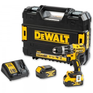 DeWALT XR DCD796 Brushless G2 Combi Drill 18V inc 2 batts (4.0Ah & 5.0Ah)