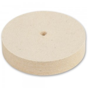 Axminster Trade Felt Wheel For Ultimate Edge - Medium