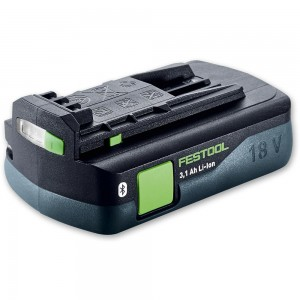 Festool Li-Ion Bluetooth Battery 18V (3.1Ah)