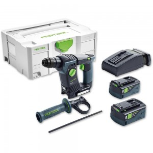 Festool BHC 18 Li 5.2 I-PLUS SDS+ Drill Bluetooth 18V