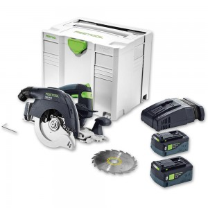 Festool HKC 55 LI 5.2 EBI-PLUS Circular Saw Bluetooth 18V