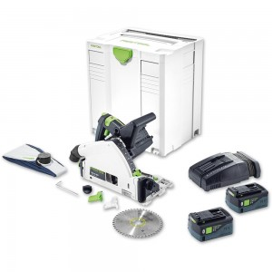 Festool TSC 55 LI 5.2 REBI-PLUS Circular Saw Bluetooth 18V