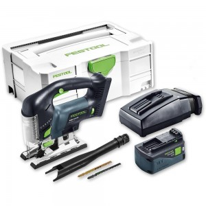 Festool PSBC 420 Li 5.2 EBI-PLUS Jigsaw Bluetooth 18V