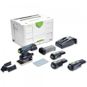 Festool RTSC 400 LI 3.1 SET Orbital Sander Bluetooth 18V/230V