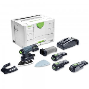 Festool DTSC 400 LI 3.1 SET Delta Sander Bluetooth 18V/230V