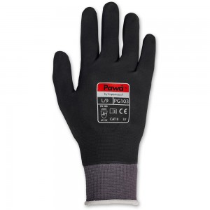 Supertouch Pawa PG103 Mechanic's Nitrile Coated Work Gloves