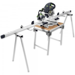 Festool KAPEX KS 120 REB SET Mitre Saw & MFT Base