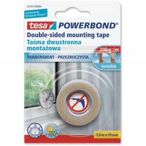 tesa Powerbond Transparent