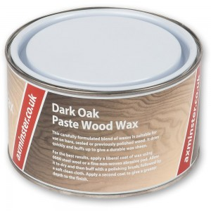 Axminster Paste Wood Wax Dark Oak 400g