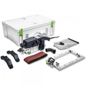 Festool BS 75 E-Set Belt Sander With Frame
