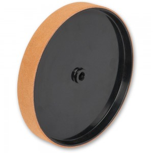 Axminster Craft Leather Honing Wheel 200mm