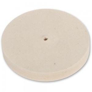 Axminster Craft 150mm Felt Wheel Plain Bore - Hard