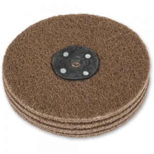 Axminster Craft 150mm Nylon Abrasive Wheel Plain Bore - Coarse