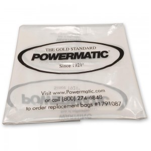 Powermatic PMCPB-2 Clear Waste Sacks (Pkt 5)
