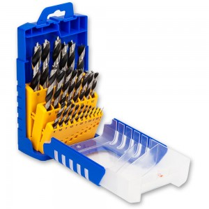 FISCH 25 Piece SP Wood Drill Bit Set