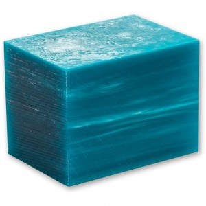 Craftprokits Teal Acrylic Kirinite Project Blank